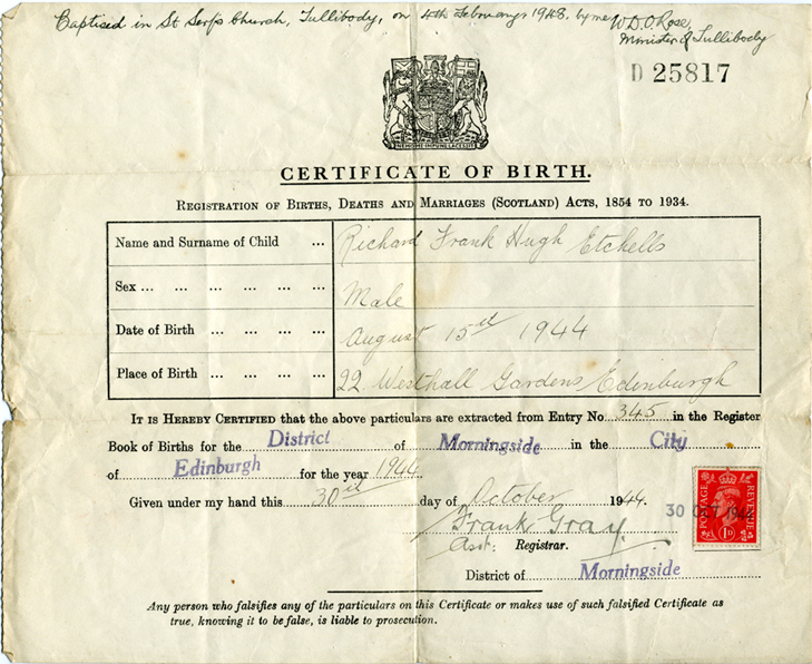 Old rare books on cd genealogy family history anguline abbreviated or short birth certificate 1944 yelopaper Image collections